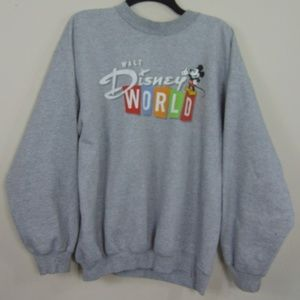 Vintage Walt Disney World Adult  Pullover Crewneck